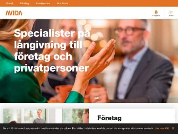 Avida Finans screenshot
