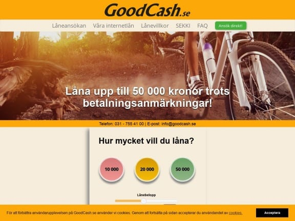 GoodCash screenshot