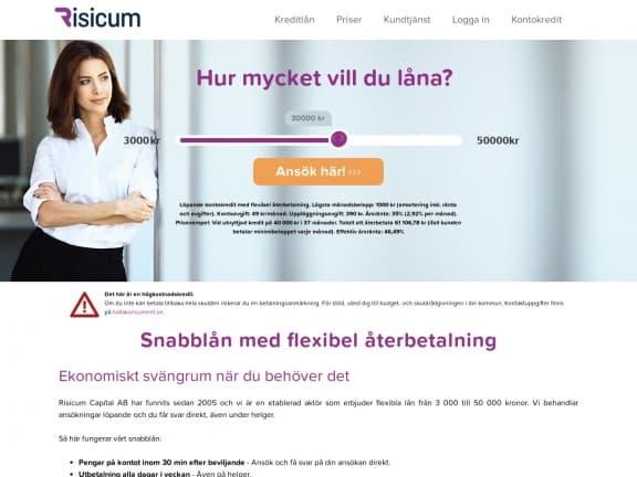 Risicum screenshot