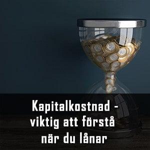 Timglas med pengar